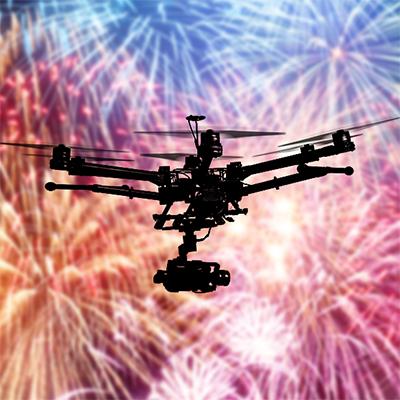 Drone Fireworks Platform